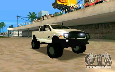 Dodge Ram 4x4 für GTA San Andreas