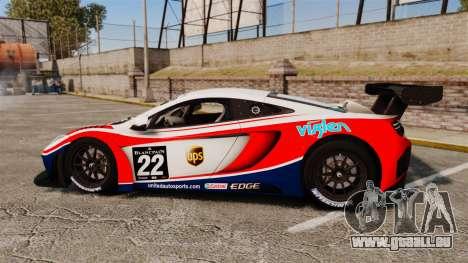 McLaren MP4-12C GT3 pour GTA 4 est une gauche