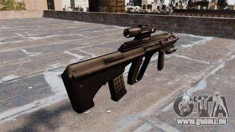 Fusil Steyr AUG A3 pour GTA 4 secondes d'écran