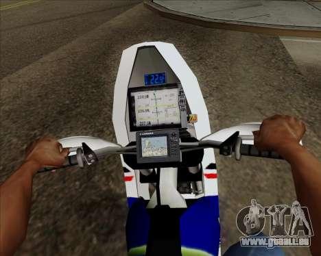 KTM 450 pour GTA San Andreas vue de droite
