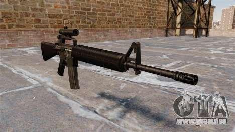 Le fusil M16A2 pour GTA 4