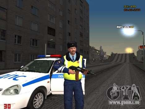 Pak DPS dans un format de l'hiver pour GTA San Andreas