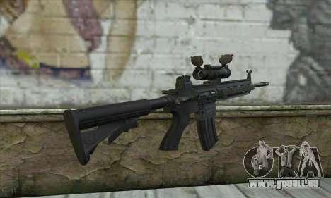 HK416 with ACOG pour GTA San Andreas deuxième écran