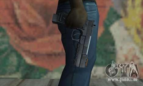 Samurai Edge pour GTA San Andreas troisième écran