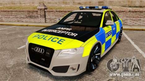 Audi S4 ANPR Interceptor [ELS] für GTA 4