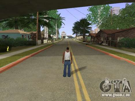 New Groove Street für GTA San Andreas her Screenshot