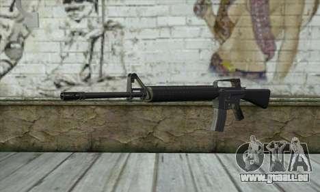 M16A2 pour GTA San Andreas