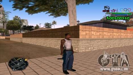C-HUD Advance für GTA San Andreas