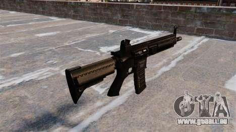 HK416 automatique pour GTA 4 secondes d'écran
