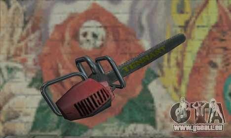 Fahndung Kettensäge für GTA San Andreas zweiten Screenshot