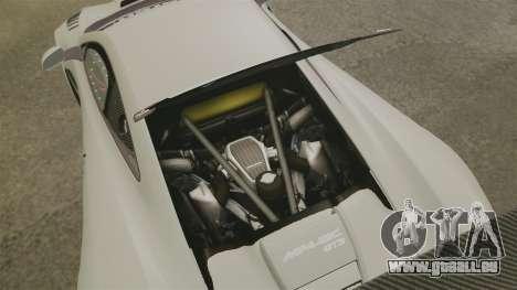 McLaren MP4-12C GT3 Blank für GTA 4 Innenansicht