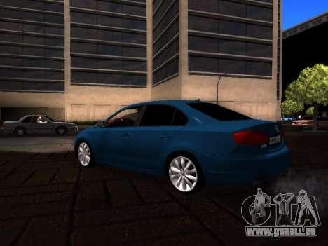 Volkswagen Jetta für GTA San Andreas zurück linke Ansicht