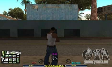 C-HUD Swat für GTA San Andreas zweiten Screenshot