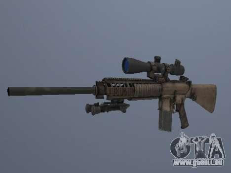 M110 pour GTA San Andreas troisième écran