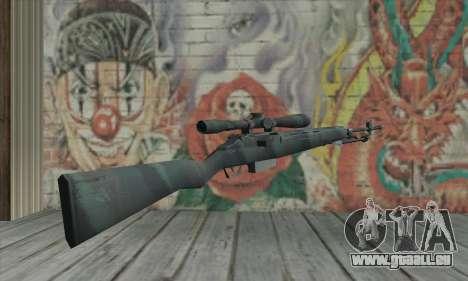 M21 de COD 4 Modern Warfare pour GTA San Andreas deuxième écran