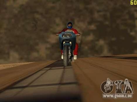 Reiten auf Wände und decken v2. 0. für GTA San Andreas zweiten Screenshot