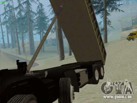 Le tableau de bord actif v 3.2.1 pour GTA San Andreas dixième écran