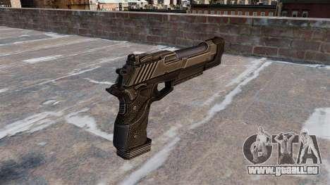 Pistolet de Desert Eagle Crysis 2 pour GTA 4 secondes d'écran