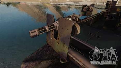 Navy SEALs SOC-R pour GTA 4 est une vue de l'intérieur