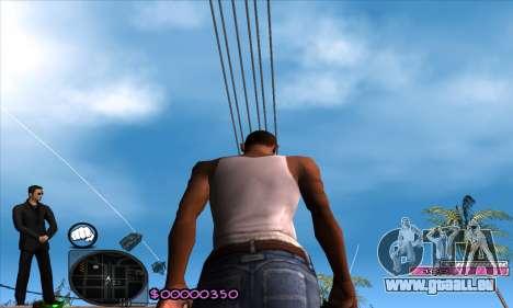 C-HUD Woozie für GTA San Andreas
