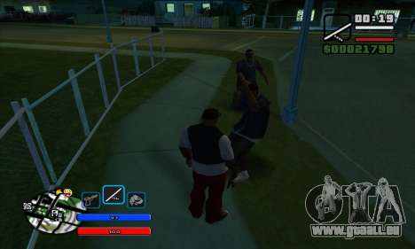 C-HUD by Fawkes pour GTA San Andreas