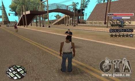 C-HUD v2 pour GTA San Andreas troisième écran