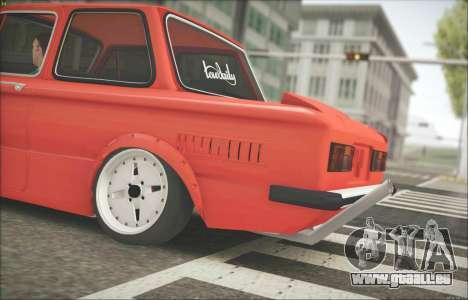 ZAZ 968 für GTA San Andreas zurück linke Ansicht