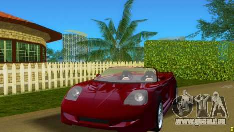 Toyota MR-S Veilside Spider für GTA Vice City linke Ansicht