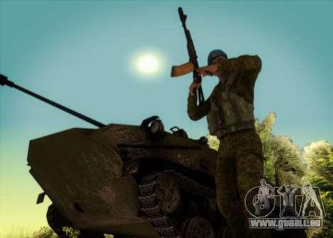 Grenadier De Troupes Aéroportées pour GTA San Andreas cinquième écran
