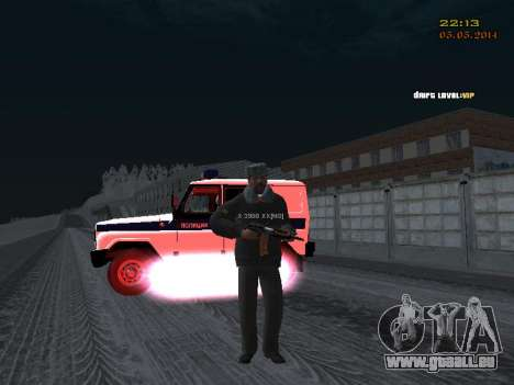 Pak Dps in einem Winter-Format für GTA San Andreas sechsten Screenshot