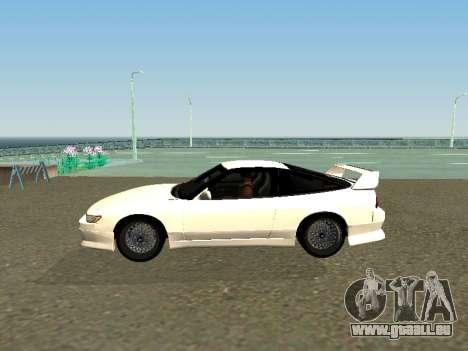 Nissan Sileighty pour GTA San Andreas laissé vue