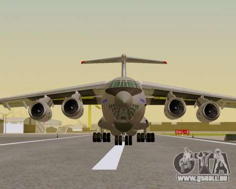 Il-76md-90 (IL-476) pour GTA San Andreas vue de droite