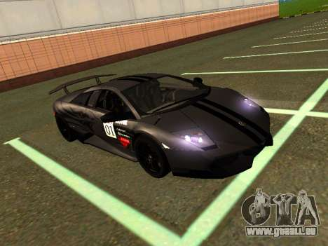 Lamborghini Murcielago LP670-4 SV Team Ravenwest für GTA San Andreas