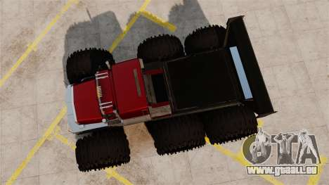 The Biggest Monster Truck pour GTA 4 est un droit