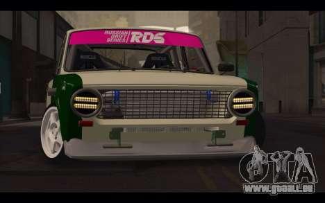 VAZ 2101 pour GTA San Andreas vue de droite