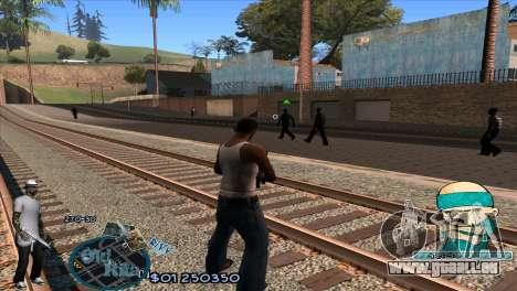 C-HUD Rifa by HARDy für GTA San Andreas zweiten Screenshot