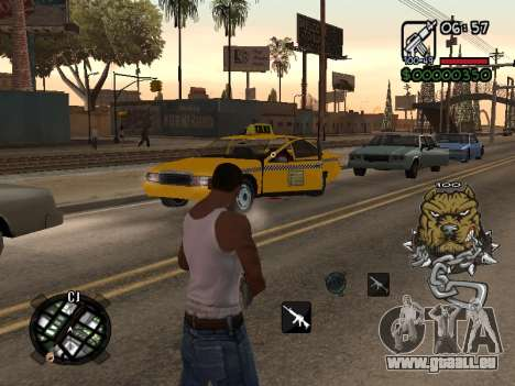 C-HUD by Margarin für GTA San Andreas zweiten Screenshot