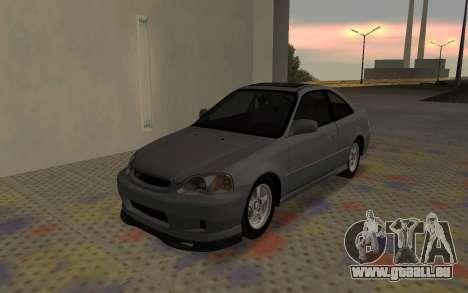 Honda Civic JDM pour GTA San Andreas