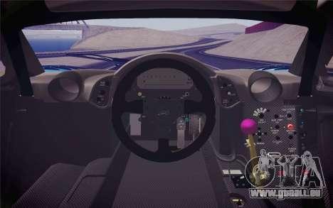 McLaren F1 GTR Longtail 22R pour GTA San Andreas vue de droite