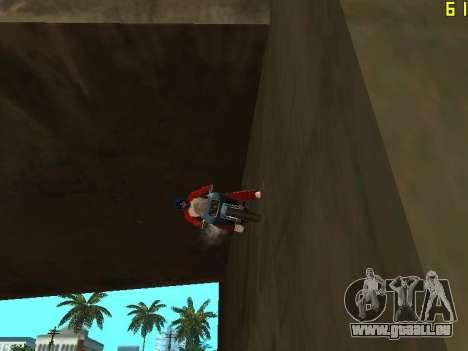 Reiten auf Wände und decken v2. 0. für GTA San Andreas dritten Screenshot
