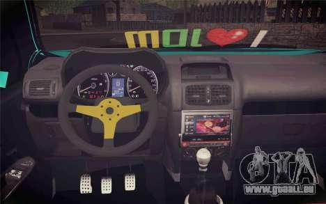 Renault Clio pour GTA San Andreas vue de droite