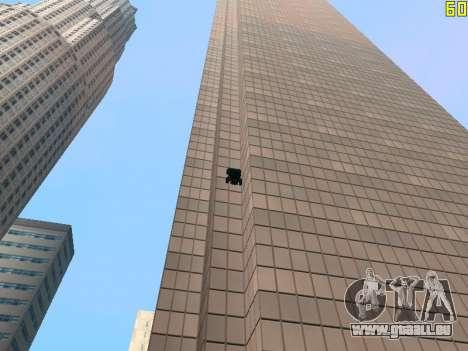 Reiten auf Wände und decken v2. 0. für GTA San Andreas siebten Screenshot