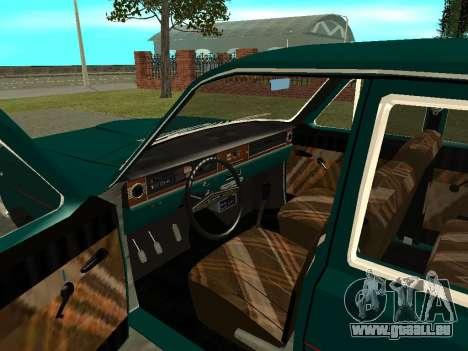GAZ Volga 24-01 pour GTA San Andreas vue arrière