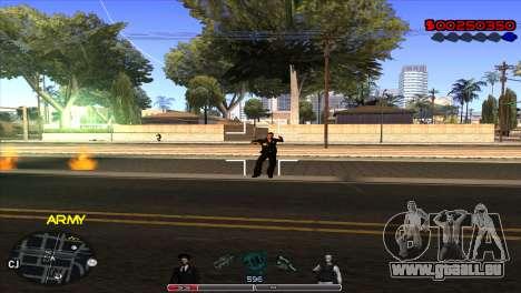 C-Hud Army by Kin pour GTA San Andreas troisième écran