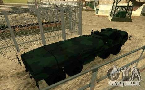 HEMTT Heavy Expanded Mobility Tactical Truck M97 pour GTA San Andreas laissé vue