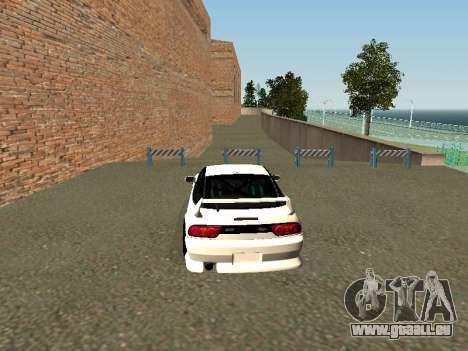 Nissan Sileighty pour GTA San Andreas sur la vue arrière gauche