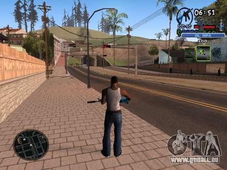 С-HUD Vieux Rifa pour GTA San Andreas