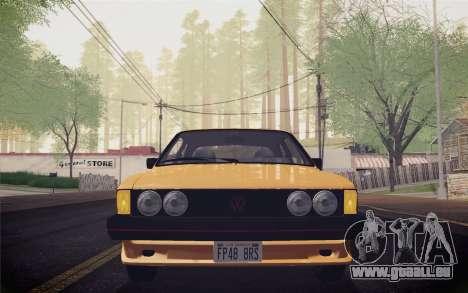 Volkswagen Scirocco S (Typ 53) 1981 IVF für GTA San Andreas Seitenansicht