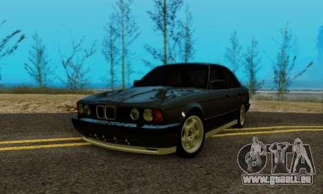 BMW M5 E34 1992 pour GTA San Andreas