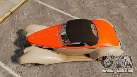 Ford Roadster 1936 Chip Foose 2006 pour GTA 4 est un droit